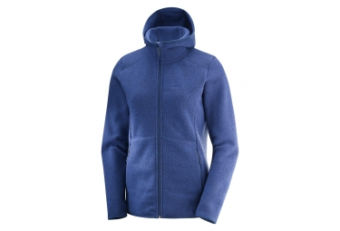 Salomon Bise Hoodie Women's Sweater Blue