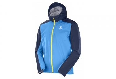 Salomon Bonatti Waterproof Jacket Blue
