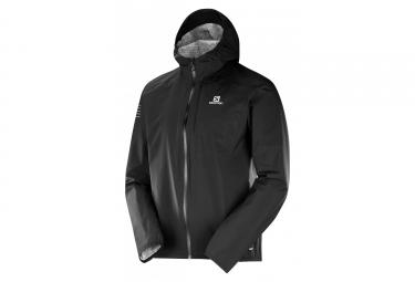 Salomon Bonatti chaqueta impermeable negro