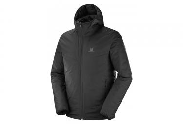 Salomon Drifter Loft Hoodie Jacket Black