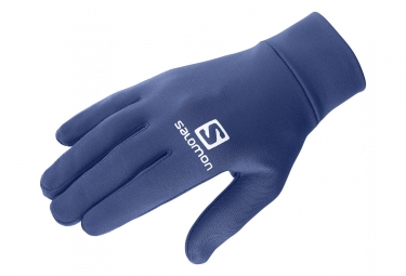 Salomon Agile Warm Glove Unisex Medieval Blue
