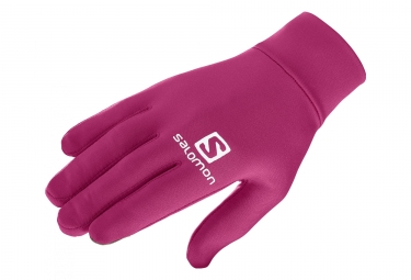 Gloves Salomon Agile Warm Glove Unisex Cherry