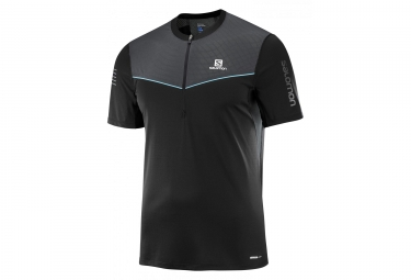 Salomon Fast Wing    Short Sleeve Jersey Black