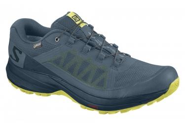 Paire de chaussures salomon xa elevate gtx bleu 46