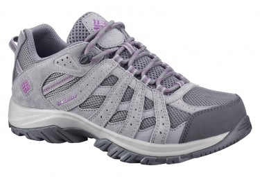 Paire de Chaussures de Randonnée Femme Columbia Canyon Point Waterproof Gris