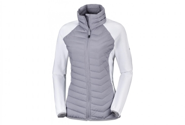 Columbia Powder Lite Fleece Astral. White Women