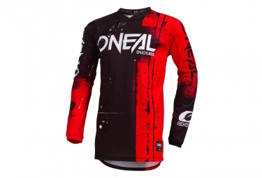 Maillot manches longues enfant o neal shred rouge kid s