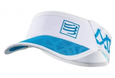 Visiere Compressport Spiderweb Ultralight Blanc Bleu
