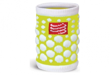 Compressport Sweatbands 3D.Dot amarillo