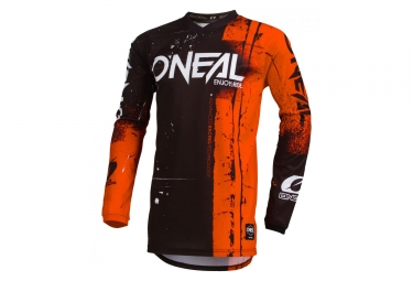 Maillot manches longues enfant o neal shred orange kid m