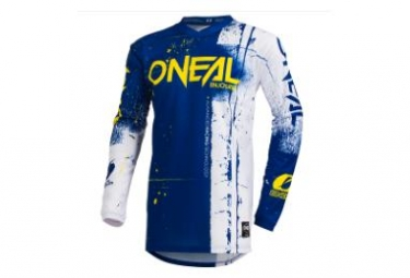 O'Neal LS Jersey Element Youth Shred Blue