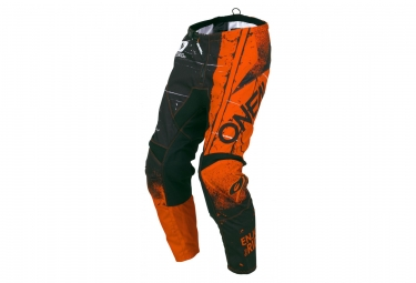 Oneal element youth pants shred orange 28 16 18