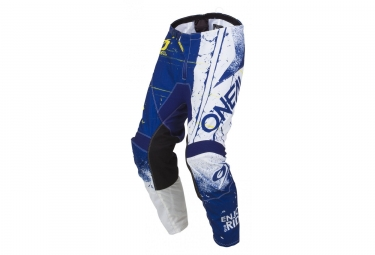Oneal element youth pants shred blue 28 16 18