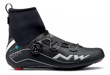 Northwave Road Bike Shoes Flash Arctic GTX Black