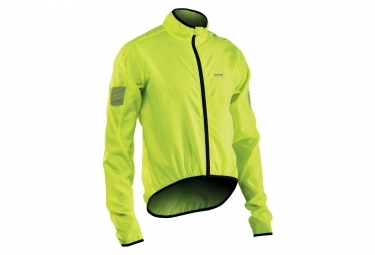 Northwave Jacket Vortex Neon Yellow