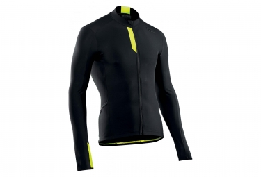 Northwave Fahrenheit Jersey Black / Yellow