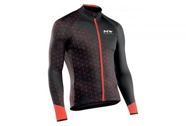 Maillot Manches Longues Northwave Blade 3 Noir / Rouge
