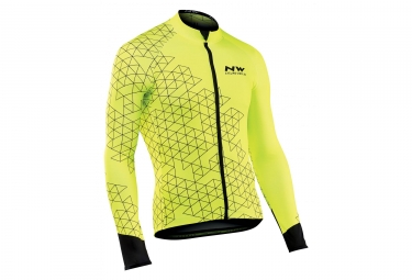 Maillot Manches Longues Northwave Blade 3 Jaune
