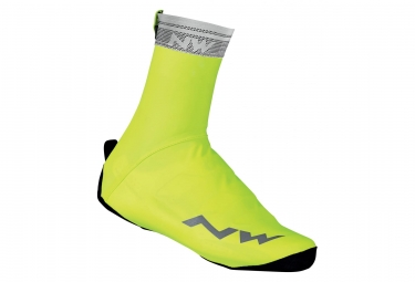 Couvre chaussures northwave chrono jaune fluo 41 43