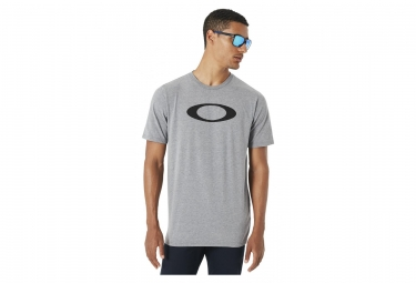 Tee shirt manches courtes oakley pc bold ellipse stone gris s