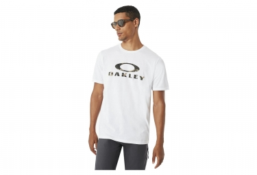 Tee shirt manches courtes oakley pc stealth ii blanc l