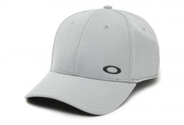 Oakley Stretch Fit Cappelli Silicon Ellipse Stone Grey