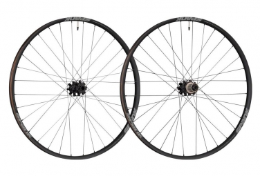 Spank Oozy 350 Boost Pair of MTB Wheels Boost 27.5'' Black