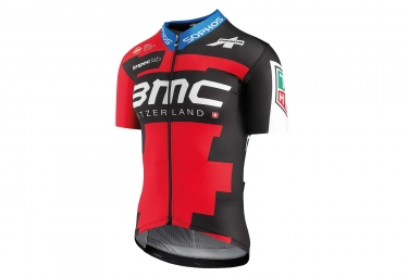 Maillot manches courtes bmc racing team aero by assos 2018 l