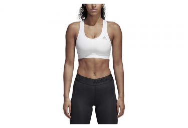 adidas running Alphaskin Sports Bra White