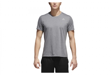 Maillot manches courtes adidas running response soft gris l