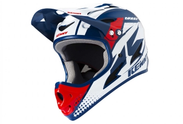 Casque kenny downhill bleu rouge l 59 60 cm