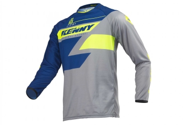 Maillot Manches Longues Kenny Track Bleu