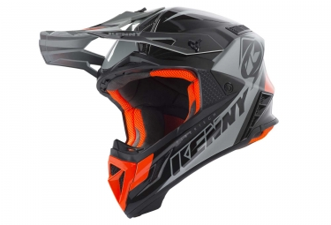 Casque kenny trophy noir orange m 57 58 cm