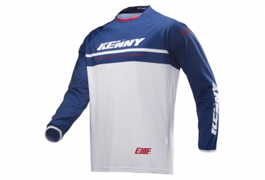 Maillot manches longues kenny elite bleu s