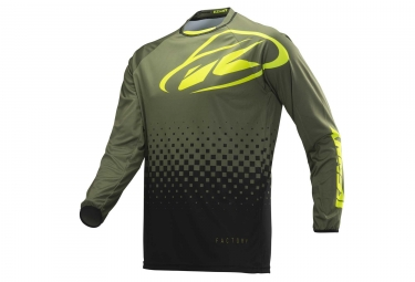 Kenny Factory Long Sleeves Jersey Army