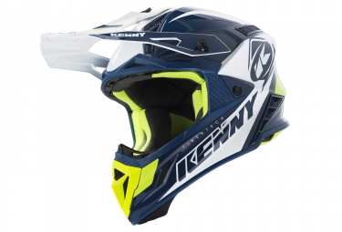 Kenny Trophy Helmet Navy / White