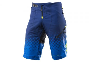 Short kenny factory bleu jaune fluo 28