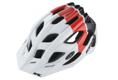 Casque Kenny K2 Blanc/ Rouge