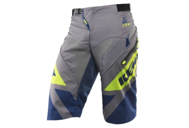 Kenny Track Shorts Navy / Lime
