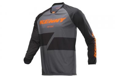 Kenny desafiante mangas largas jersey carbón