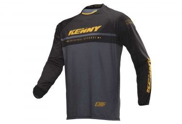 Maillot manches longues kenny elite noir or s