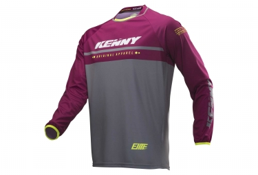 Maillot manches longues kenny elite rouge s