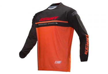 Maillot Enfant Manches Longues Kenny Elite Orange Fluo