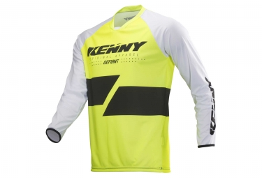 Maillot Manches Longues Kenny Defiant Jaune Fluo