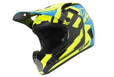 Casque integral kenny scrub jaune fluo xl 61 62 cm