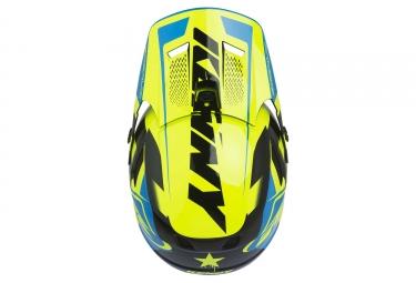Kenny Scrub Full Face Helmet Neon Yellow