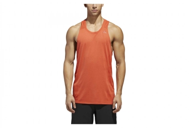 adidas running Supernova Tank Top Orange