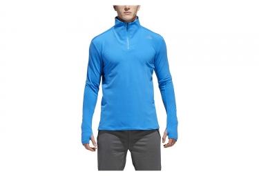 adidas running Supernova Buddy Half-Zip Pullover Light Blue