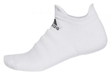 adidas running Alphaskin No-Show Low Socks White