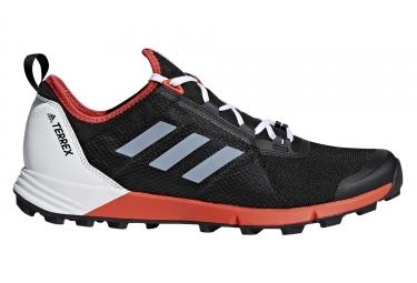Chaussures de trail adidas running terrex agravic speed noir blanc rouge 42